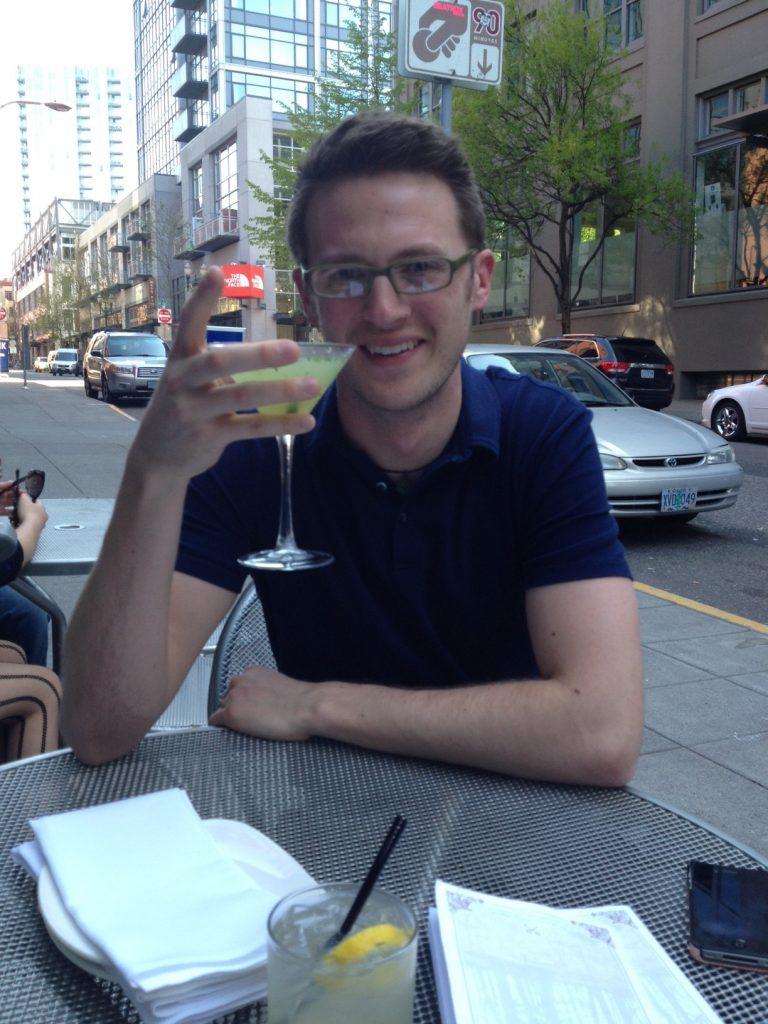 Ryan Avery at Vault Martini