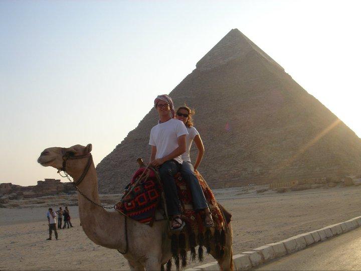 us on a camel