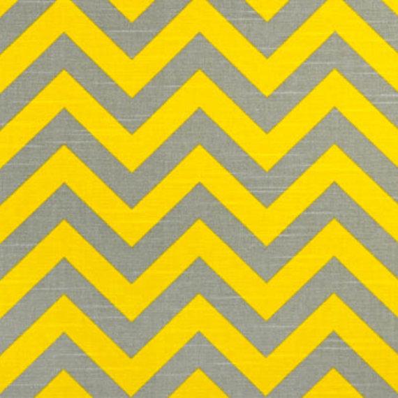 chevron yellow gray