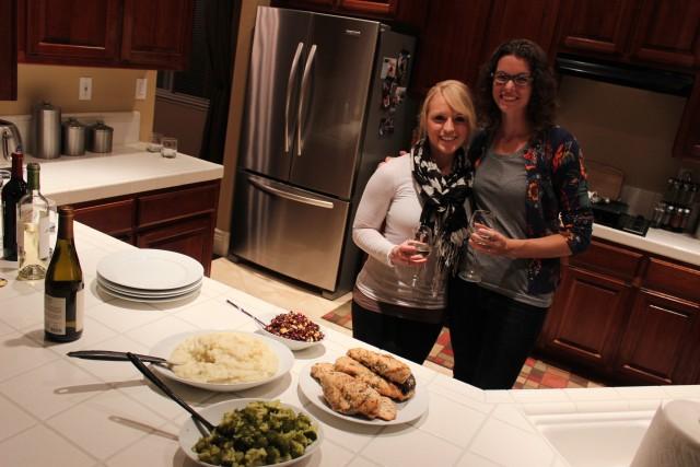 chelsea avery and danielle dinner date
