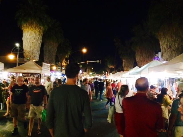 palm springs villagefest tips travel