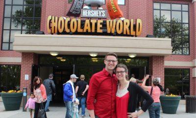 ryan and chelsea avery chocolate world hershey