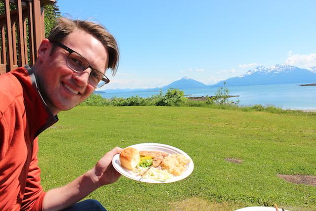 1 lunch alaskan cruise juneau private island