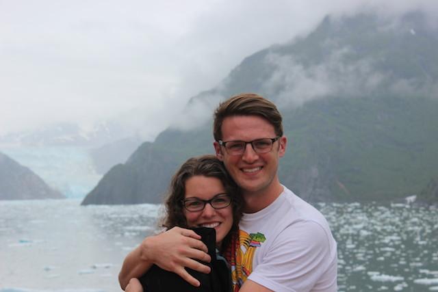 alaskan cruise glacier in tracy arm