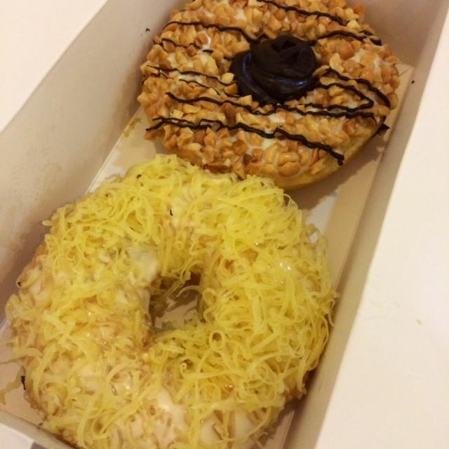 malaysia travel cheese donut
