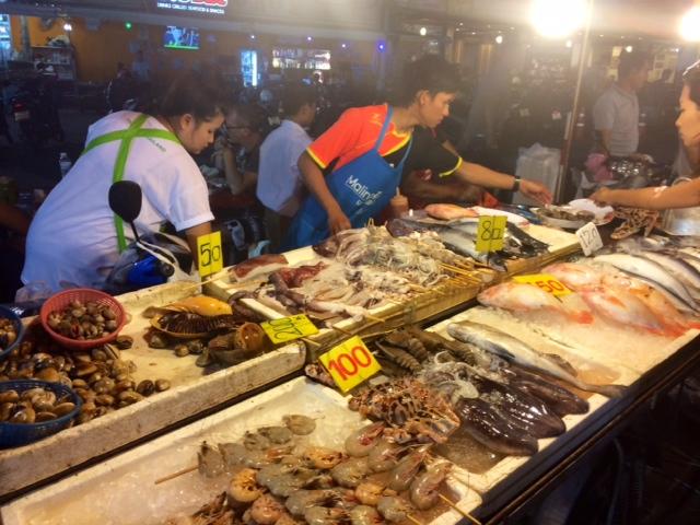 patong thailand market