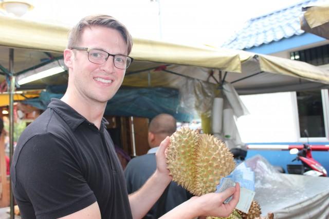 travel malaysia durian fruit ryan avery