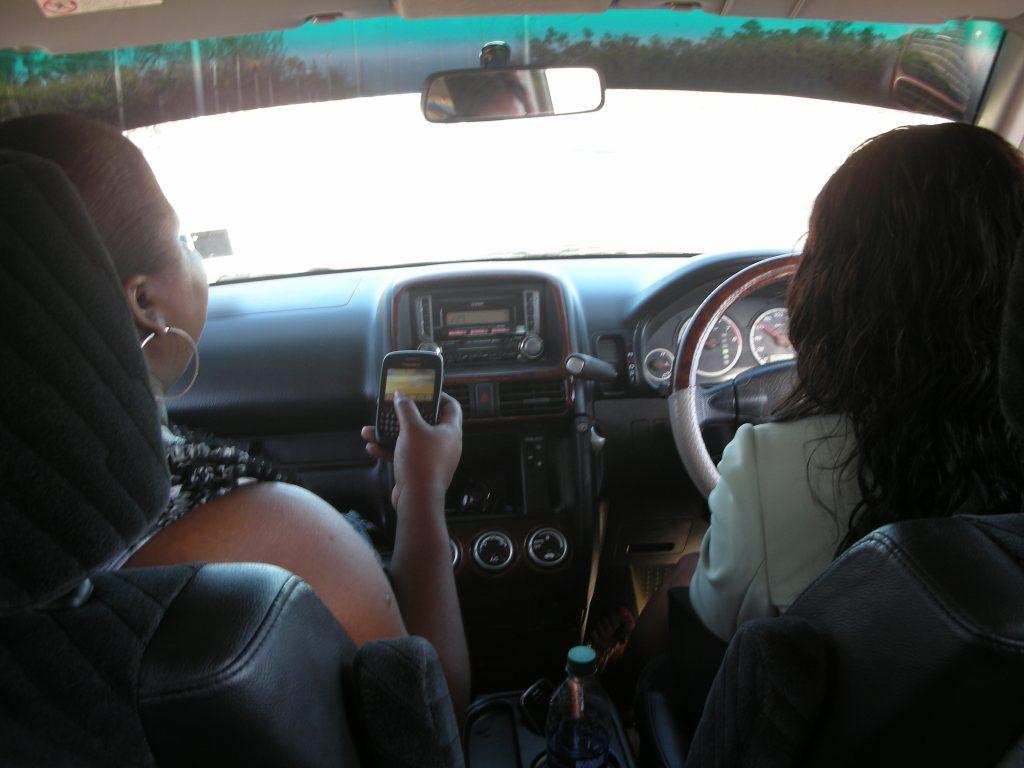 deanna and sashane driving