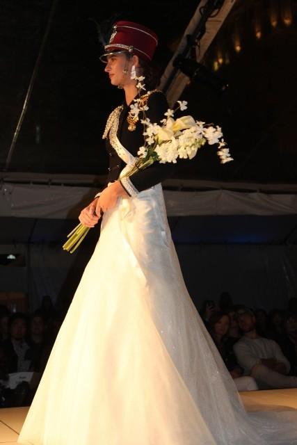 portland fashion week bride soilder