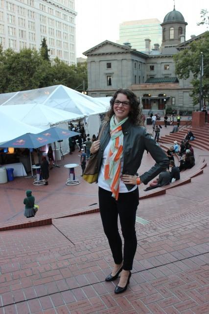 portland fashion week chelsea avery tent