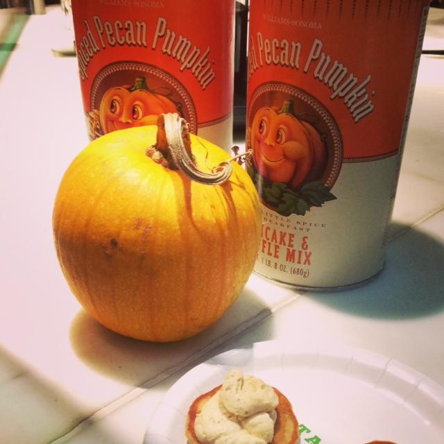 pumpkin pancake recipe with real pumpkin