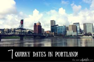 Fun Dates in Portland