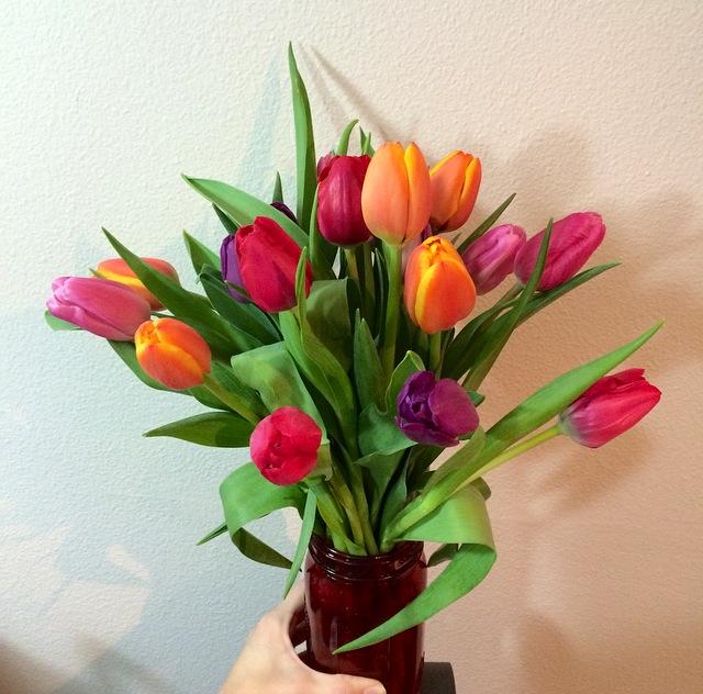 birthday flowers tulips