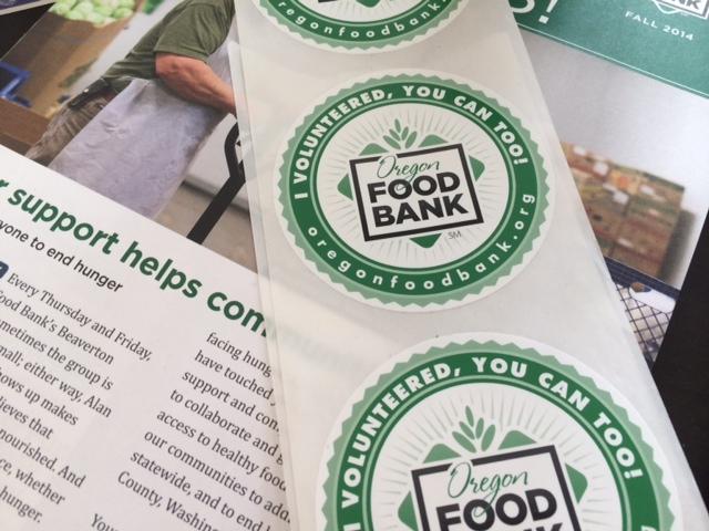 volunteer oregon food bank