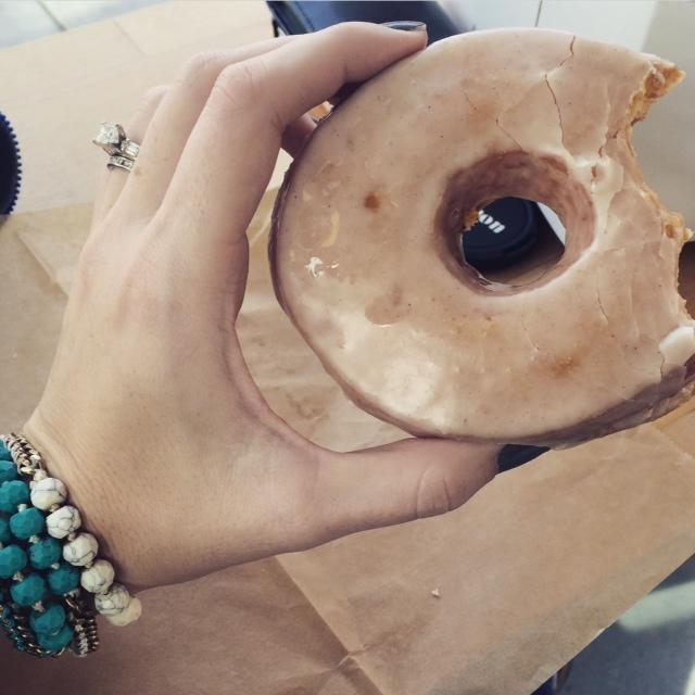 chloe + isabel donut