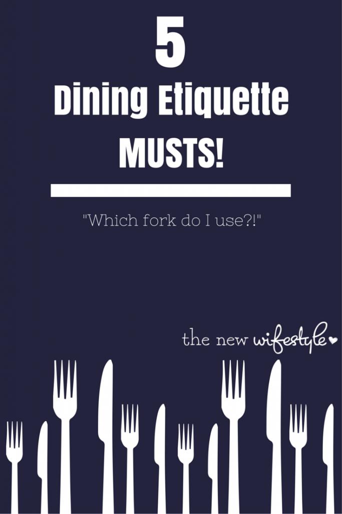 headerDining Etiquette