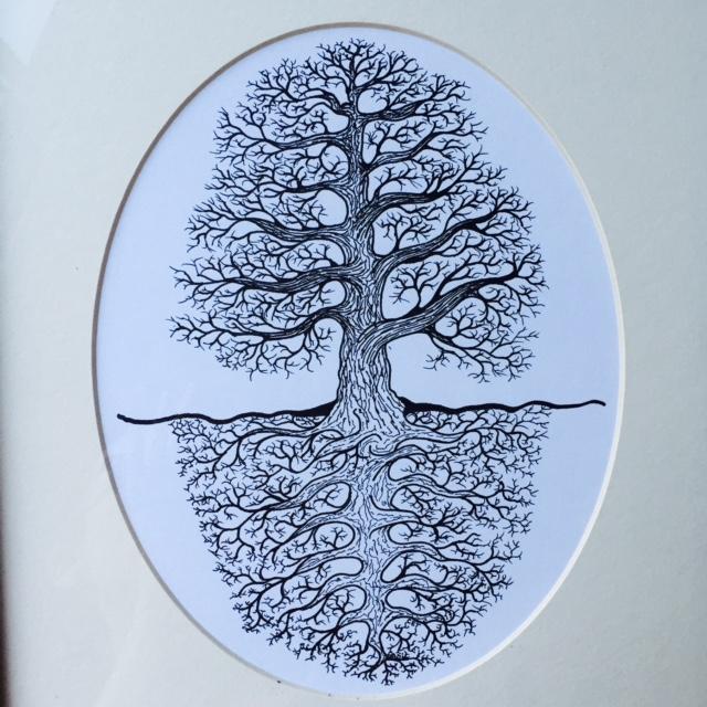 tree drawing chelsea avery