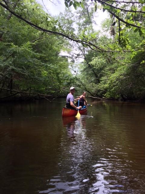 PCB Us canoeing