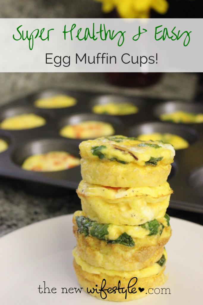 Easy egg muffin cups recipe
