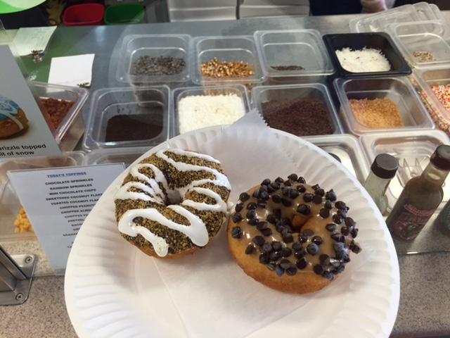 girls weekend desert donuts