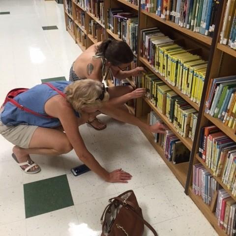 girls weekend library