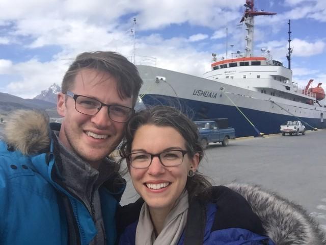 Antarctica Chelsea and Ryan Avery
