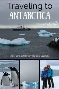 Traveling to Antarctica!