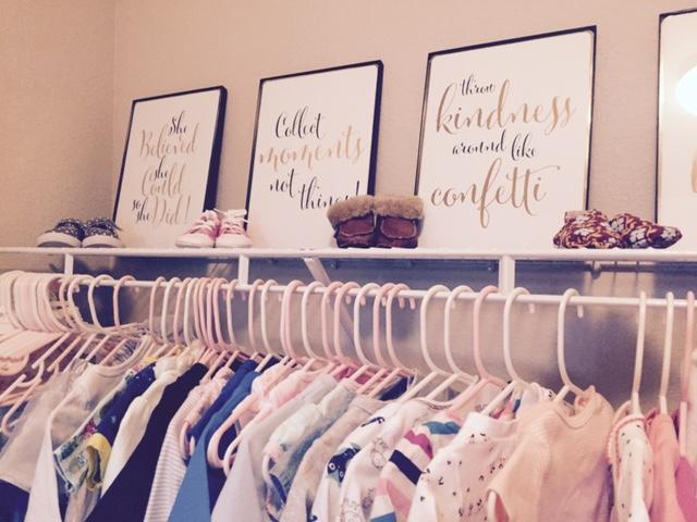 clothes line up