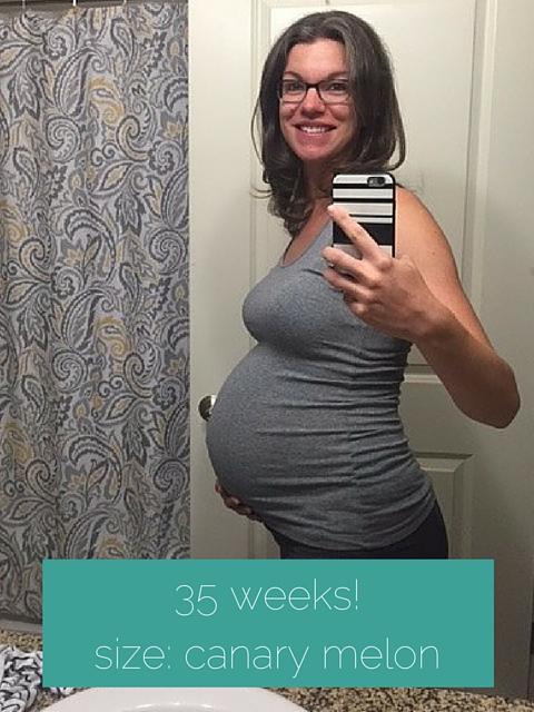 35 weeks pregnant
